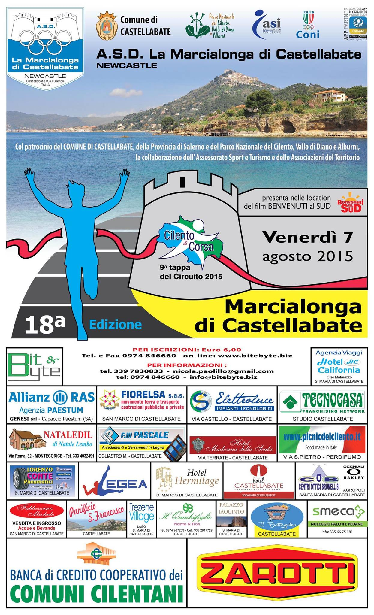 Marcialonga di Castellabate 2015
