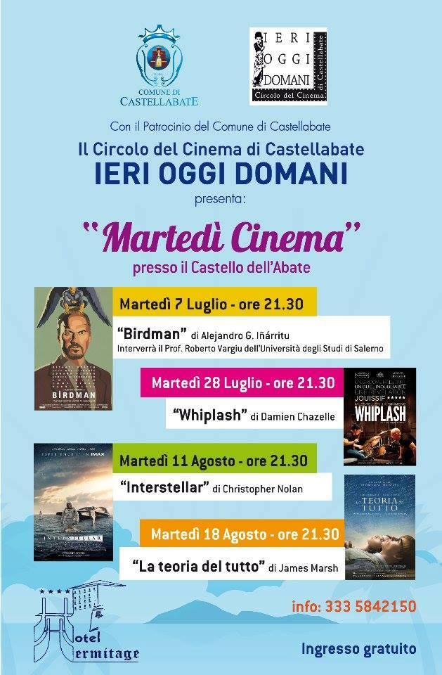 Martedì Cinema