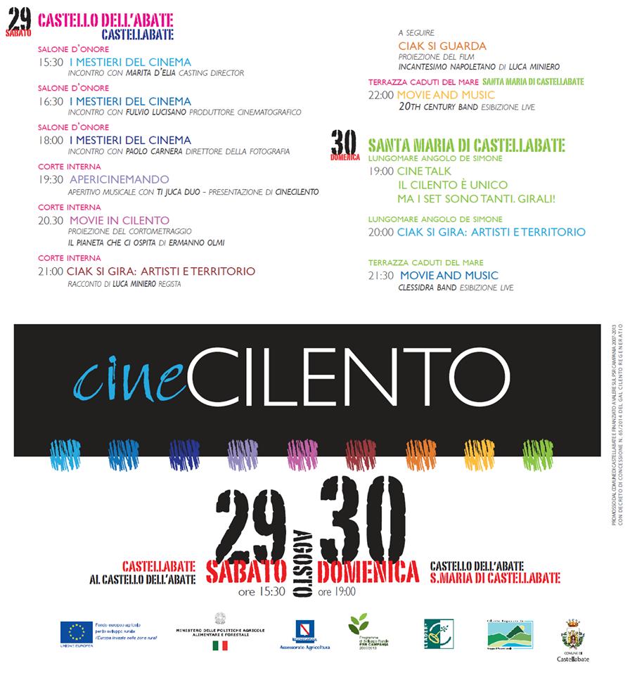 Cinecilento 2015 Castellabate