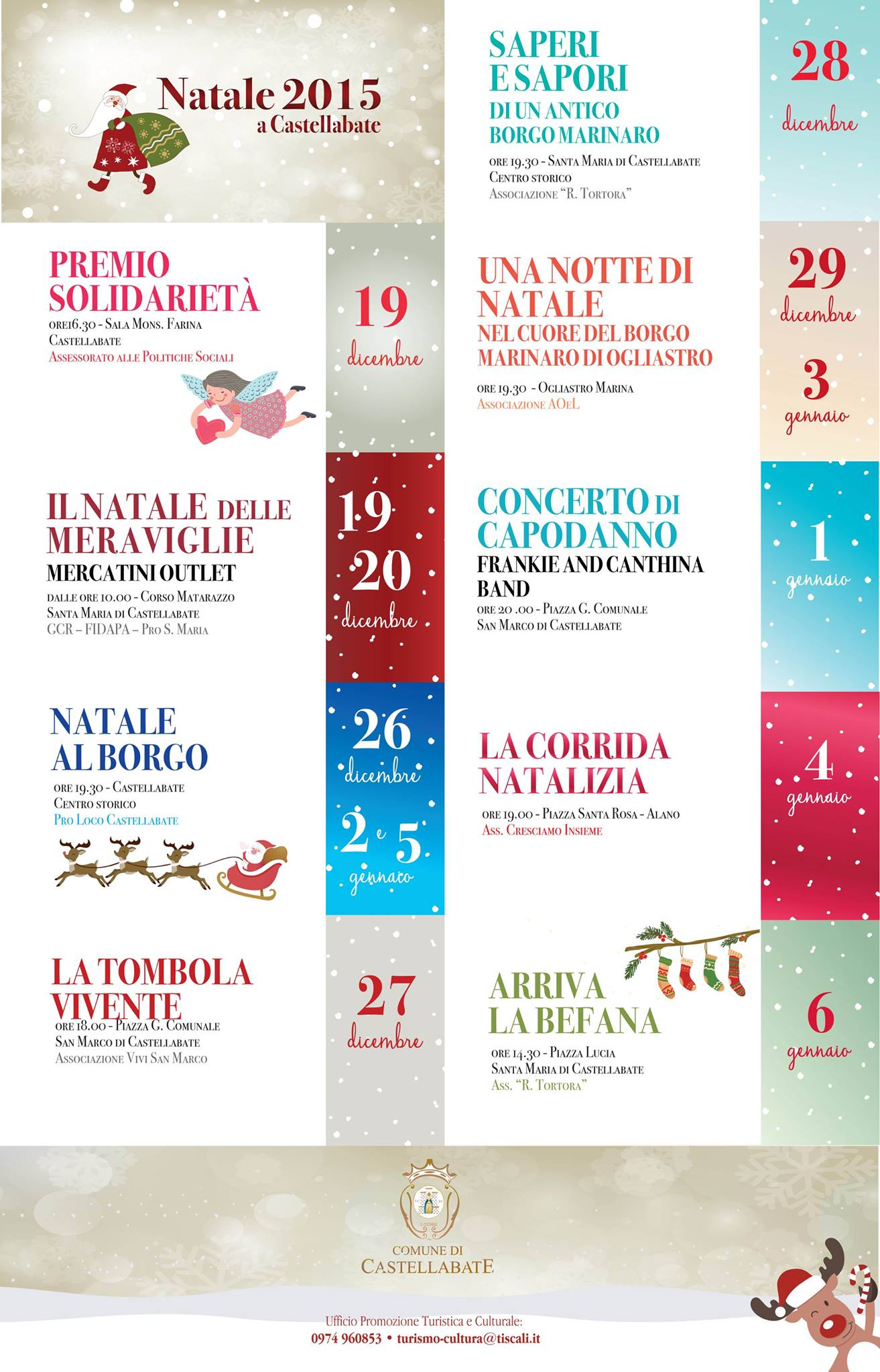 Natale 2015 a Castellabate
