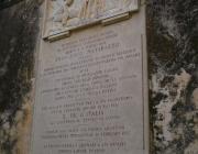 Targa commemorativa Francesco Matarazzo