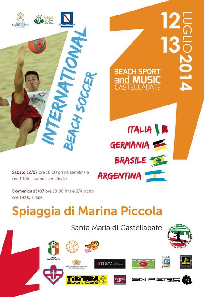 international beach soccer
