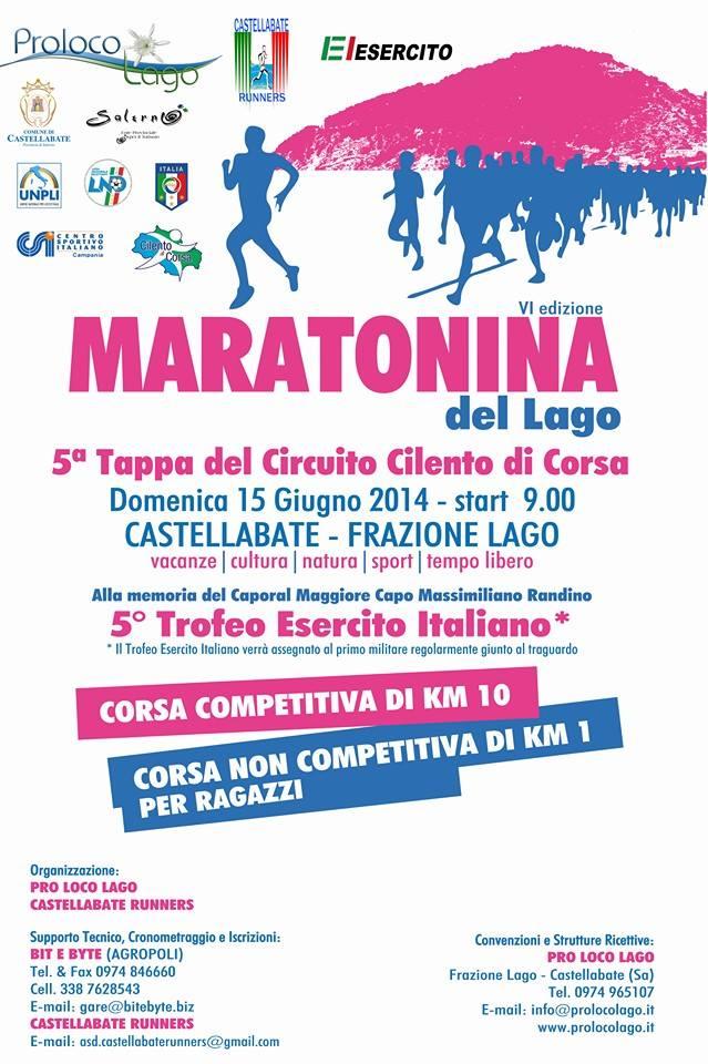 Maratonina del Lago 2014 (Castellabate)