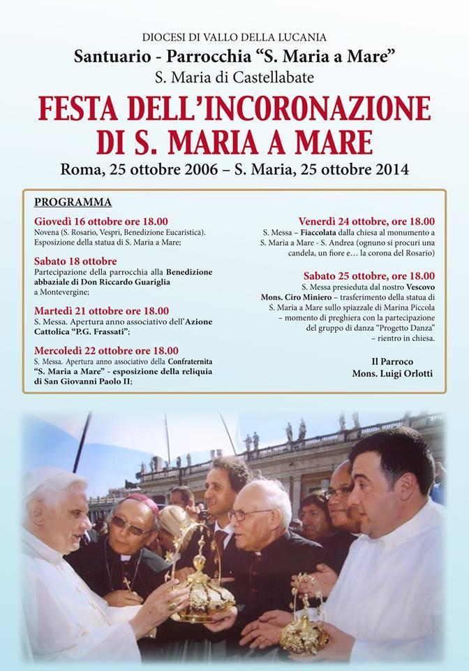 festa incoronazione santa maria a mare 2014