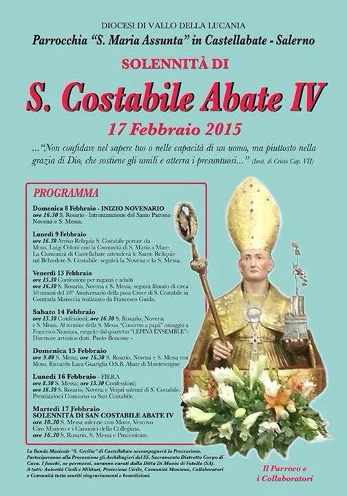 Festa di San Costabile 2015