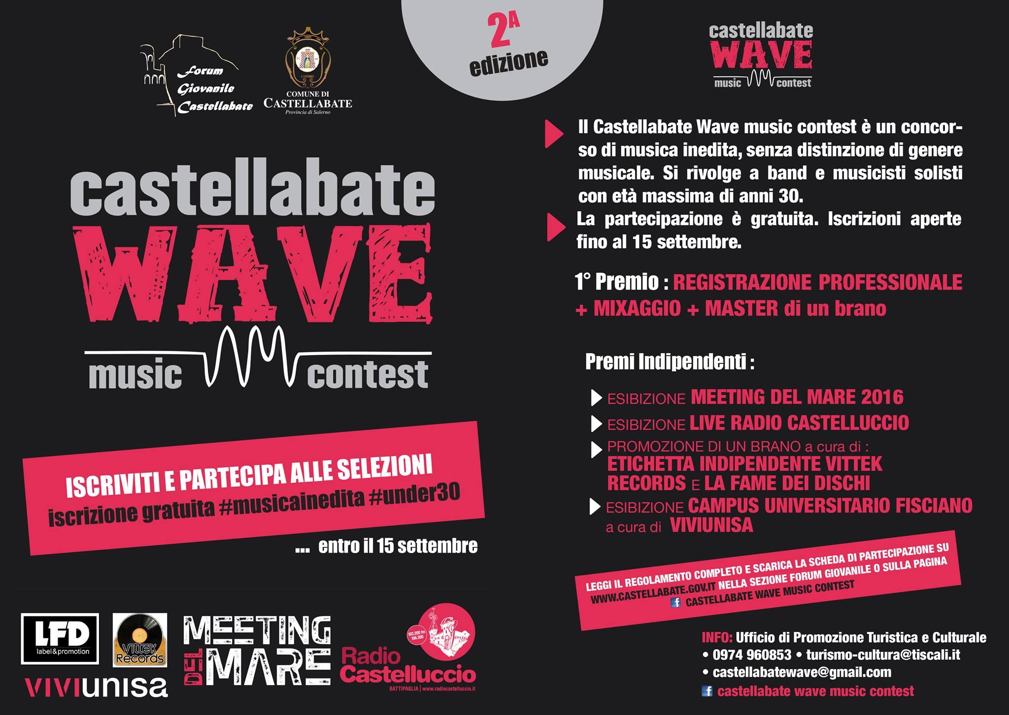 Castellabate wave music contest 2015