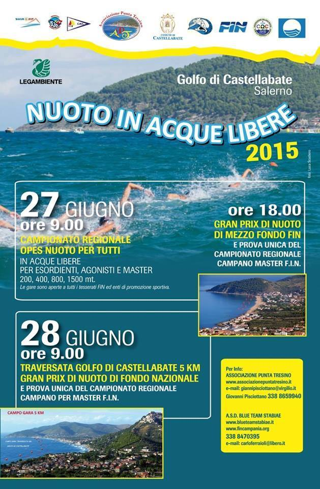Nuoto in acque libere 2015