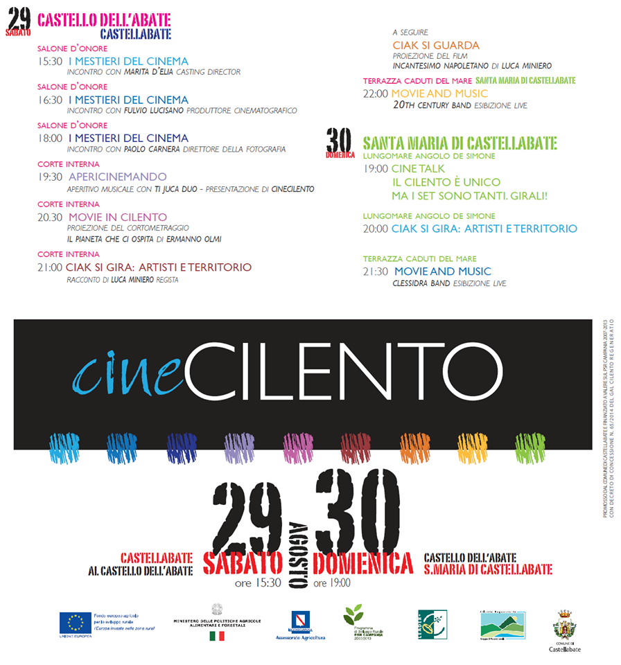 Cinecilento 2015 Castellabate