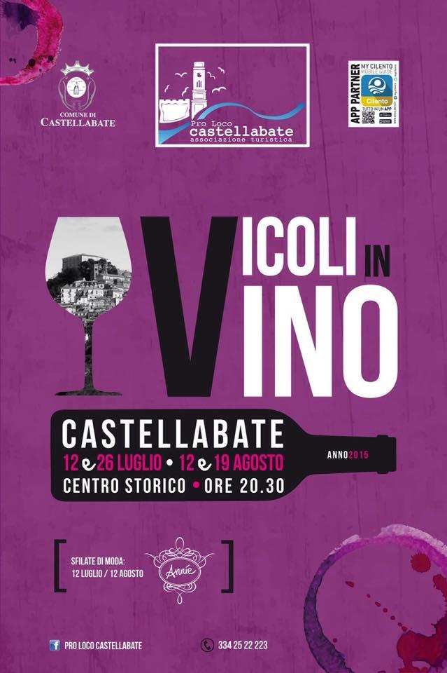 Vicoli in vino Castellabate