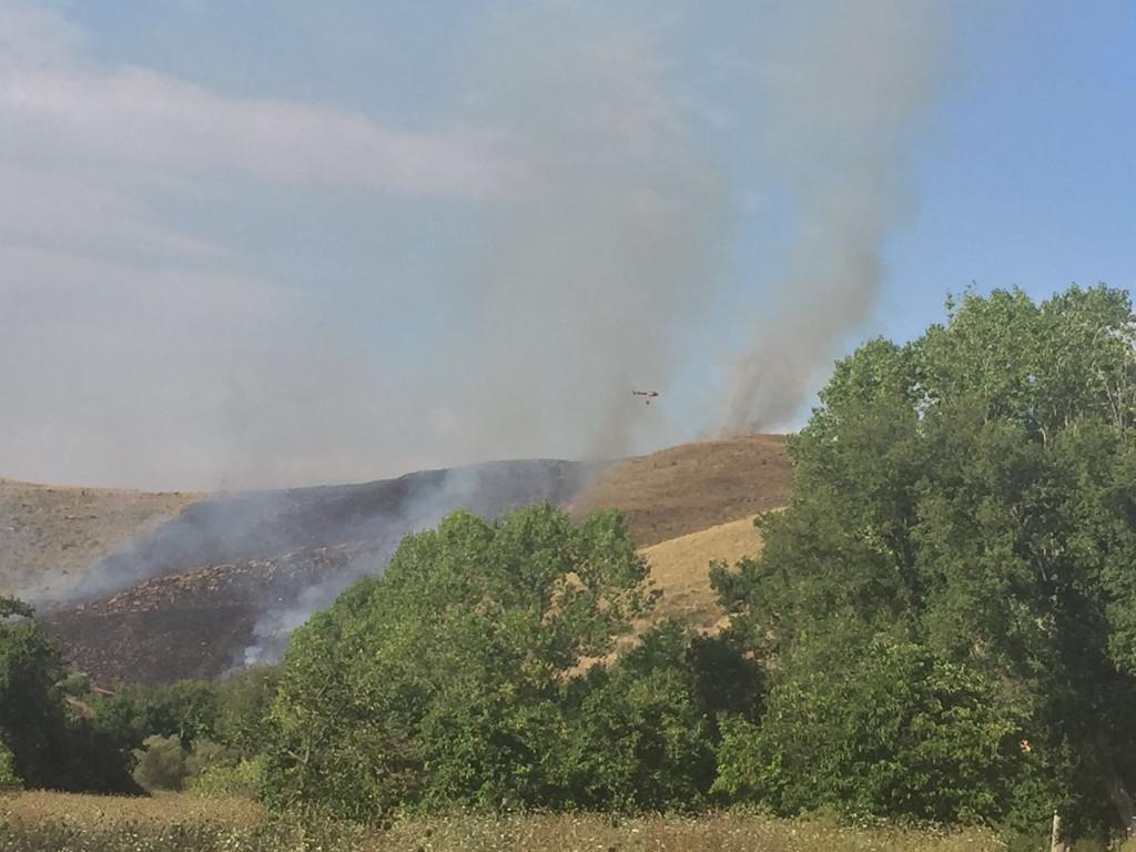 incendio alano castellabate
