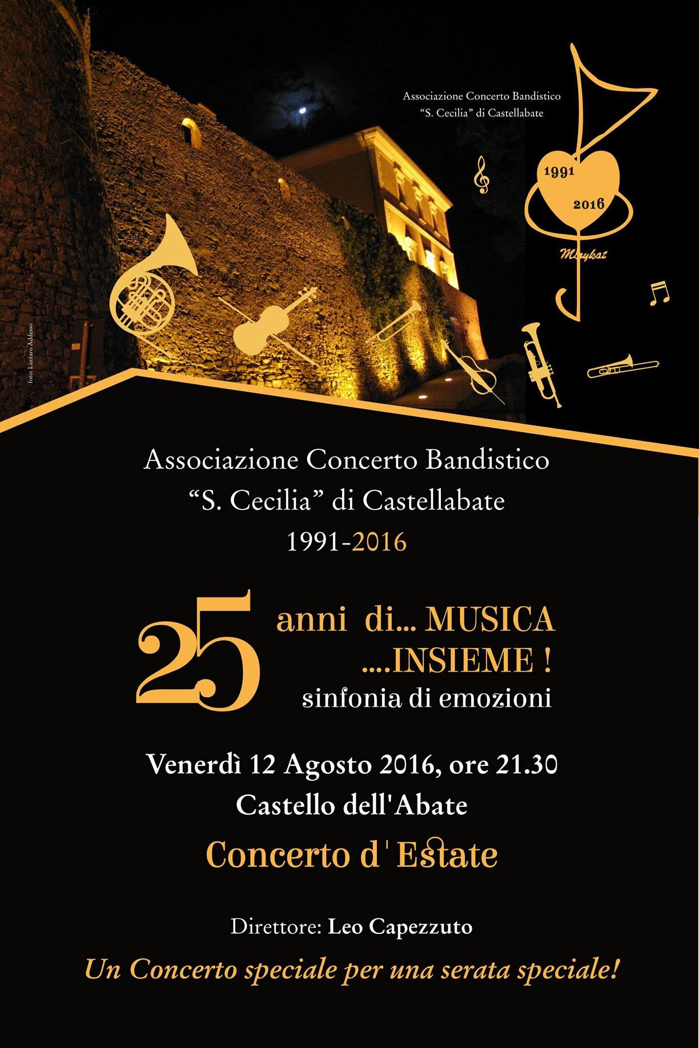 concerto d'estate santa cecilia castellabate