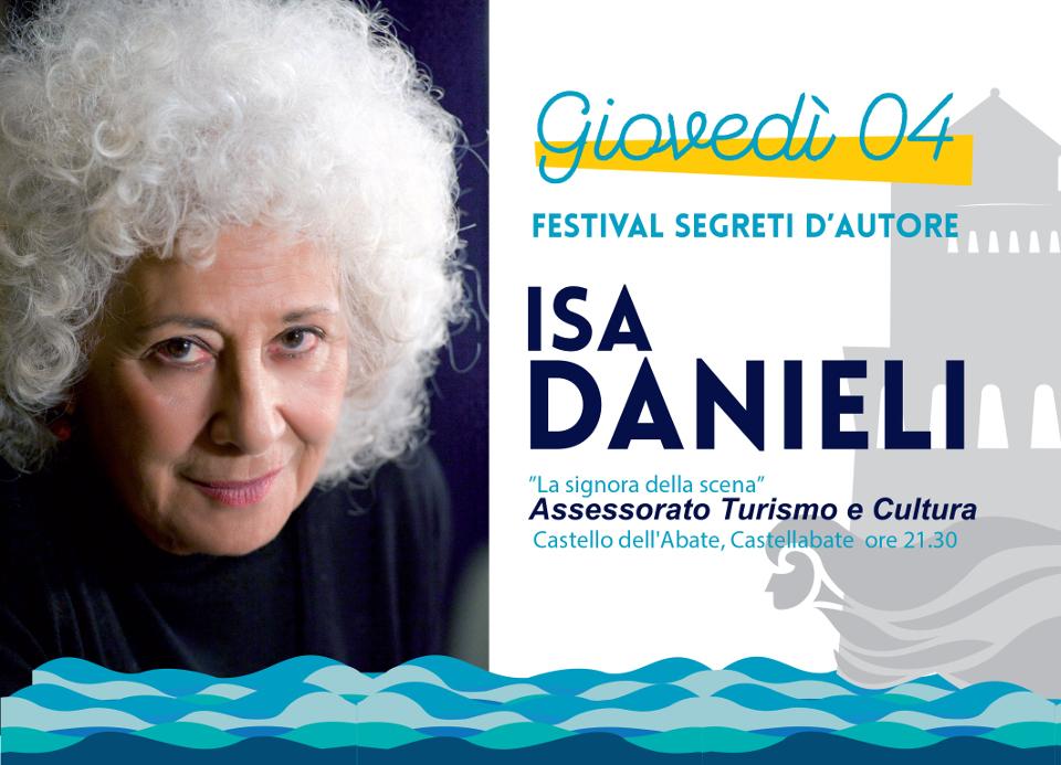 festival segreti d'autore 2016 (isa danieli) castellabate